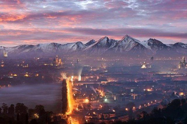 Panorama Tatr z Krakowa? Nie do końca...