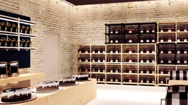 Nowe wnętrze pijalni czekolady Wedla