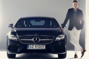 Twardoch został właśnie ambasadorem marki Mercedes-Benz Polska.