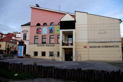 """Na planie """"Misia Uszatka"""". Eksponat w Muzeum Dobranocek w Rzeszowie."""