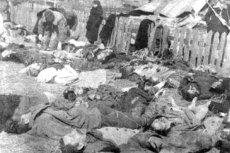 Mieszkańcy wsi Lipniki, zamordowani przez ukraińskich nacjonalistów.