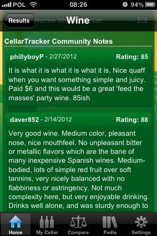 W sekundę dostajemy dziesiątki opinii użytkowników.