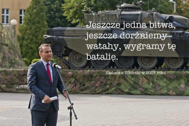 Radosław Sikorski nie sprawdzi sięjako Marszałek Sejmu.