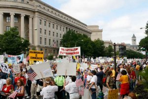 Protest Tea Party w Waszyngtonie