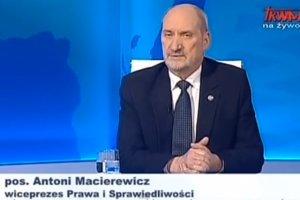 Antoni Macierewicz uważa, że w zaistniałej sytuacji opozycja nie może zdobyć władzy w legalny sposób