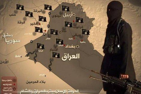 Państwo Islamskie, zwane też jako ISIS, utrzymuje rządy na terytorium Iraku, mimo że jest atakowane z powietrza przez Francuzów i Amerykanów
