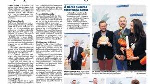 "Projekt: Polska odbiera nagrodę ""Fréttablaðið"""