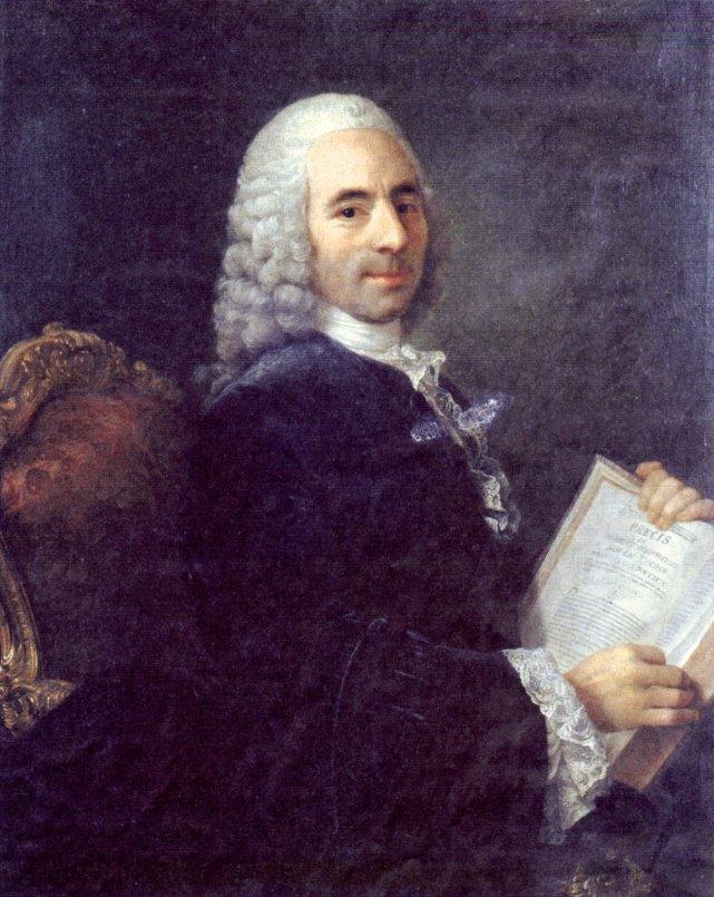 François Quesnay, portret Heinza Rietera.