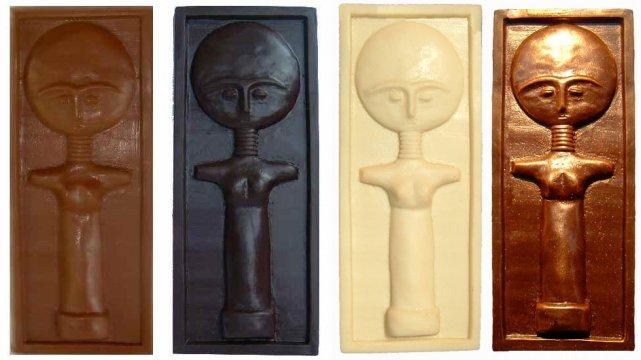 Akua'ba z czekolady
