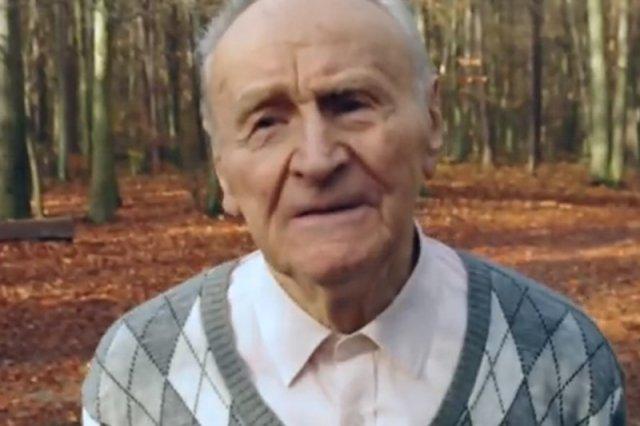"""91-latek podbija serca internautów. Antoni Huczyński zdradza sekret długowieczności. """"Kochany dziadek - mistrz!"""""""