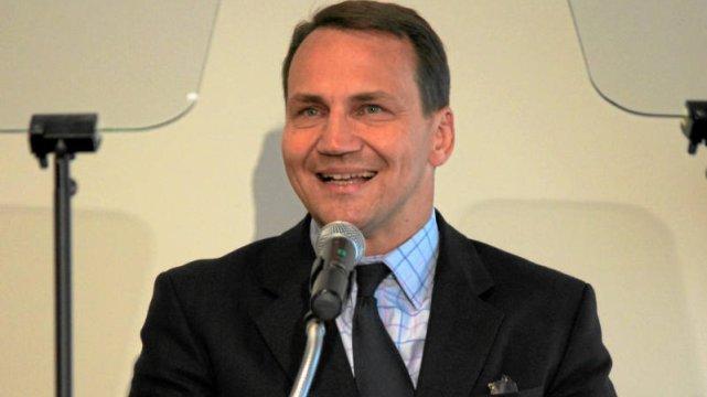 Radosław Sikorski w Berlinie