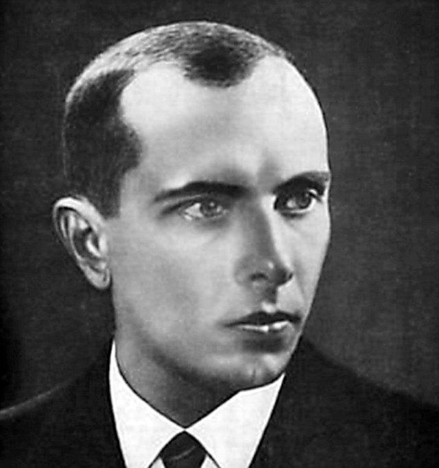 Stepan Bandera - przywódca ukraińskich nacjonalistów.