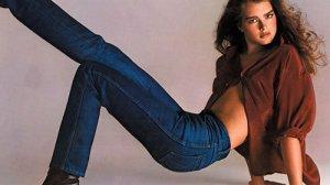 Brooke Shields w reklamie Calvin Klein Jeans