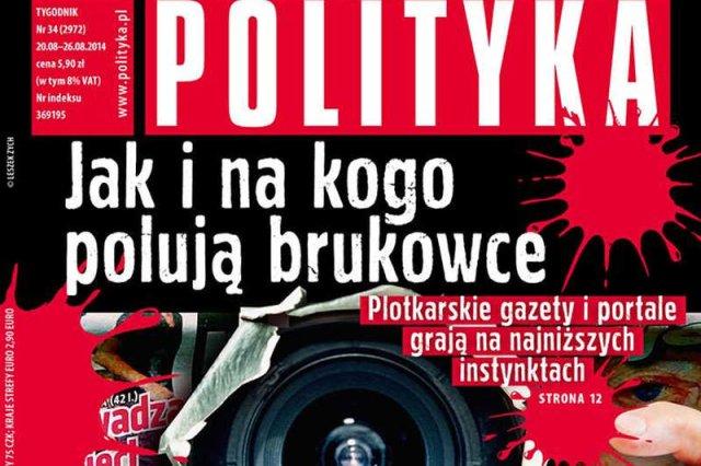 """Artykuł o tabloidach rozpętał wojnę między """"Polityką"""" a """"Super Expressem""""."""