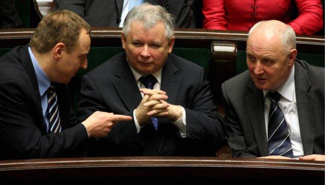 Poseł Jasiński od zawsze był blisko z prezesem Kaczyńskim.