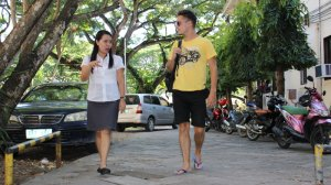 Christy P. Alvares jest absolwentką uczelni w Dumaguete City.