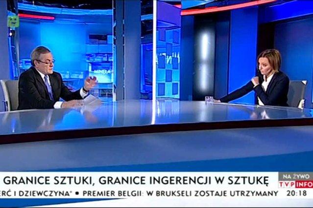 Prezes TVP zawiesił dziennikarkę TVP INFO za wywiad z Piotrem Glińskim.