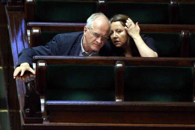 Joanna Lichocka i Krzysztof Czabański chcieli odwołać Jacka Kurskiego z funkcji prezesa TVP. Nie udało się, a oni trafili na cenzurowane.