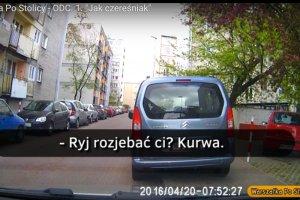 Buractwo na drodze to nie problem Warszawy. Chajzer: To nie jest miasto buraków, chamów i powszechnego zła.