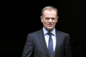 Tusk apeluje do imigrantów, by nie przybywali do Europy.
