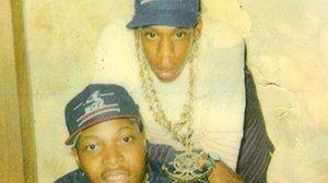 Jay-Z (na górze) w 1988 roku,