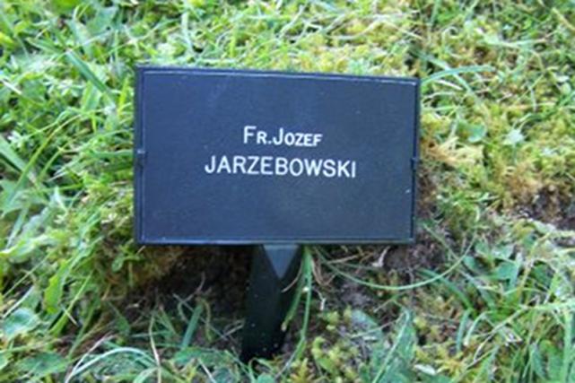 Obecne miejsce spoczynku księdza Jarzębowskiego