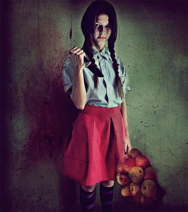 Dziewczynka do obierania