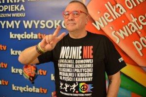 Jerzy Owsiak znany jest ze swoich pacyfistycznych poglądów.