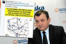Według Stanisława Gawłowskiego PO budowała drogi a PiS pomniki.