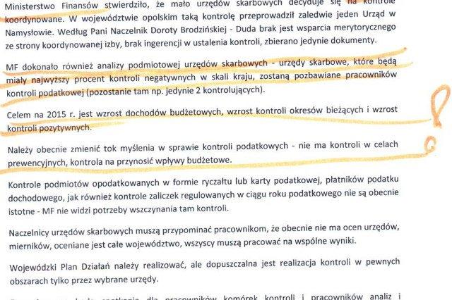 Wiceminister Jacek Kapica nie mógł potwierdzić autentyczności notatki