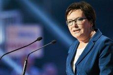 Ewa Kopacz, podobnie jak kilka dni temu Rafał Trzaskowski, nawołuje do współpracy opozycji w celu odsunięcia PIS od władzy.