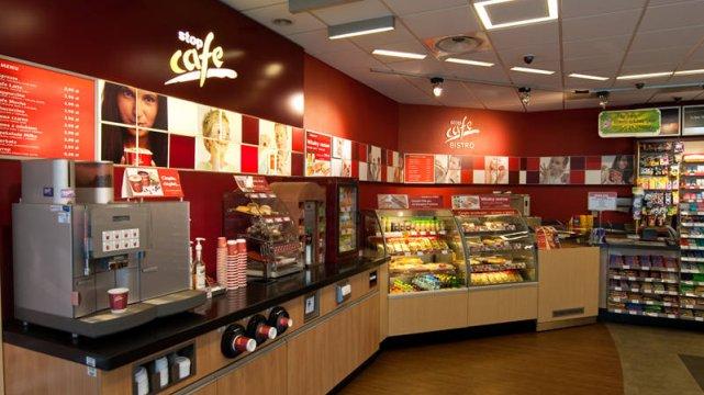 Bistro Stop Cafe na stacji Orlen