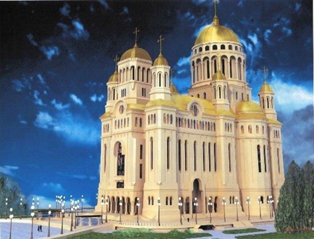 Tak wygląda projekt powstającej katedry w Bukareszcie