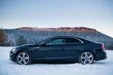 Tak prezentuje się nowe Audi A5 Coupe.