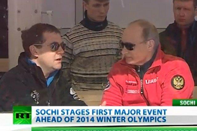 Premier Dmitrij Miedwiediew i prezydent Władimir Putin już przygotowują się do igrzysk w Soczi