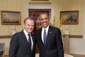 """Donald Tusk rozmawiając z Barackiem Obamą burzył to, co """"budował polski prezydent"""" – uważa Krzysztof Szczerski"""
