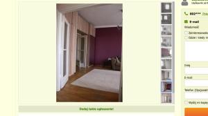 Wynajem mieszkania w centrum Warszawy to koszt co najmniej 2000 złotych.