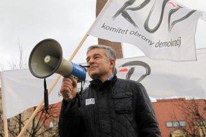 Frasyniuk odpowie przed prokuraturą. Miał znieważyć  Kaczyńskiego i Dudę