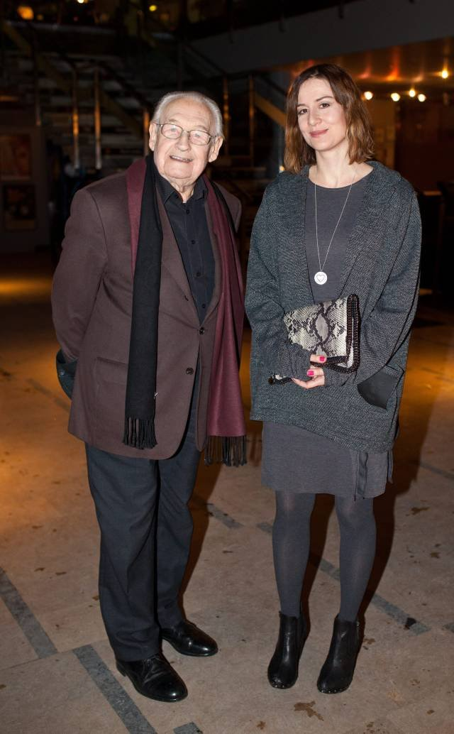 Maja Ostaszewska i Andrzej Wajda