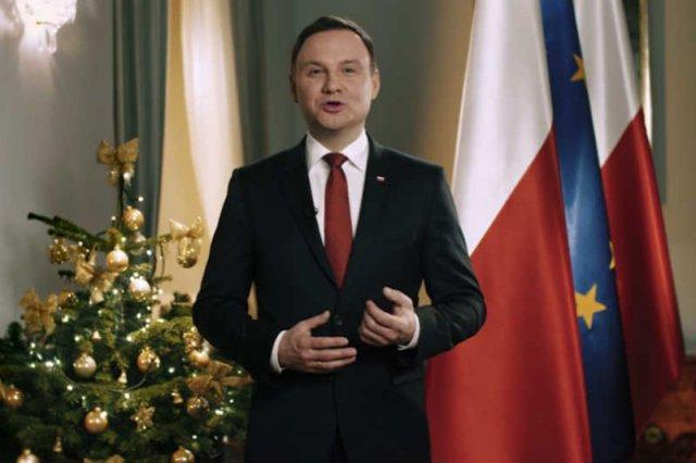 Andrzej Duda wygłosił orędzie noworoczne.