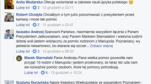 Inicjatywa prezydenta Jaśkowiaka była komentowana przez poznaniaków.