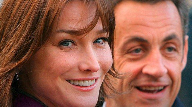 Carla Bruni i Nicolas Sarkozy •