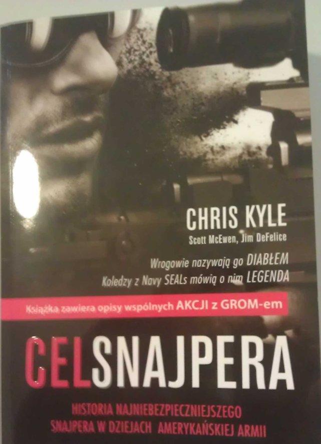 Chris Kyle przyjechał do Polski promować swoją książkę