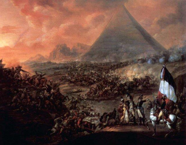 Bitwa pod piramidami, 21 lipca 1798 roku.