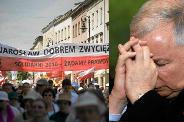 Wokół Jarosława Kaczyńskiego wytworzył się prawdziwy kult, ale nie służy on ani prezesowi, ani Kościołowi.