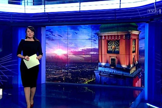 """""""Wiadomości"""" w TVP1"""